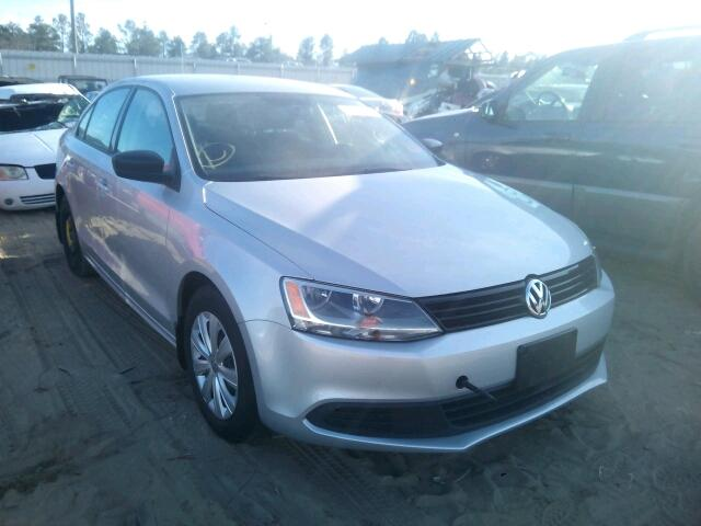 Salvage 2012 VOLKSWAGEN JETTA - Small image. Lot 13998206