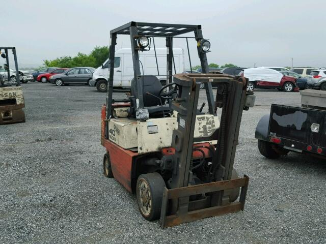 Used 2003 NISSAN FORKLIFT - Small image. Lot 24585006