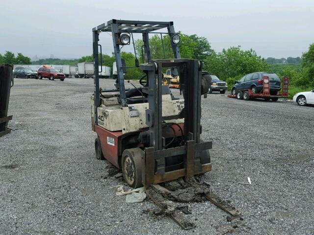 Used 2000 NISSAN FORKLIFT - Small image. Lot 24583636