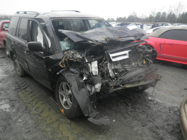 Salvage 2006 HONDA PILOT - Small image. Lot 12311543