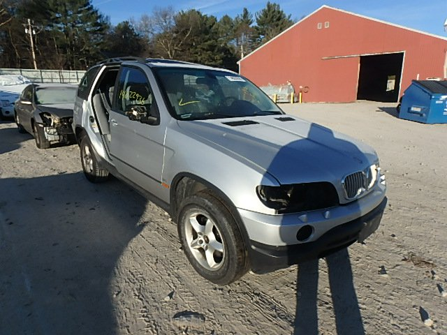 Salvage 2002 BMW X5 - Small image. Lot 14022936