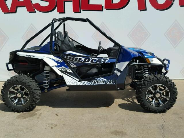 Salvage 2015 ARCTIC CAT SIDEBYSIDE - Small image. Lot 36660466