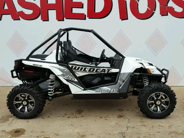 Salvage 2015 ARCTIC CAT SIDEBYSIDE - Small image. Lot 36651326