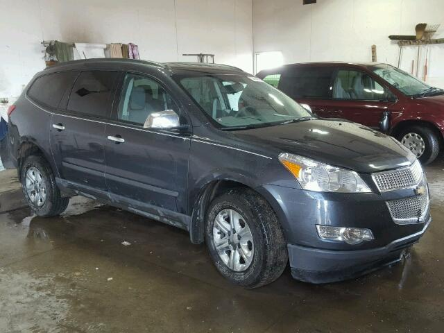 Salvage 2012 CHEVROLET TRAVERSE - Small image. Lot 38534076
