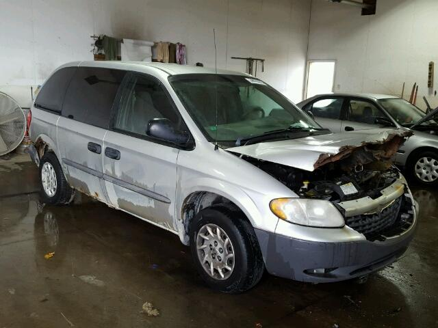 Salvage 2002 CHRYSLER MINIVAN - Small image. Lot 38810276