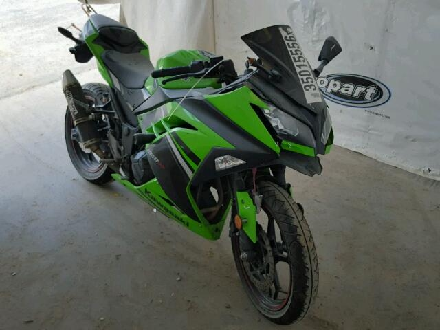 Salvage 2014 KAWASAKI NINJA 330 - Small image. Lot 35015556