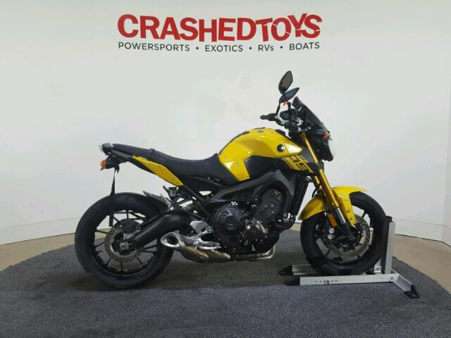 Salvage 2015 YAMAHA FZ-07/09 - Small image. Lot 33915286