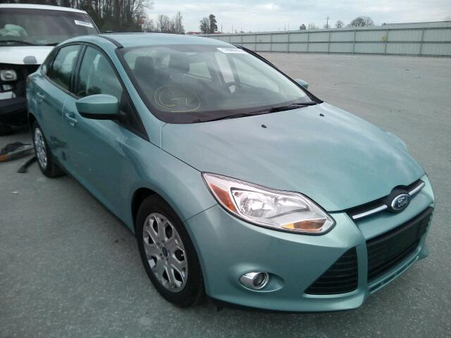 Salvage 2012 FORD FOCUS - Small image. Lot 17096256