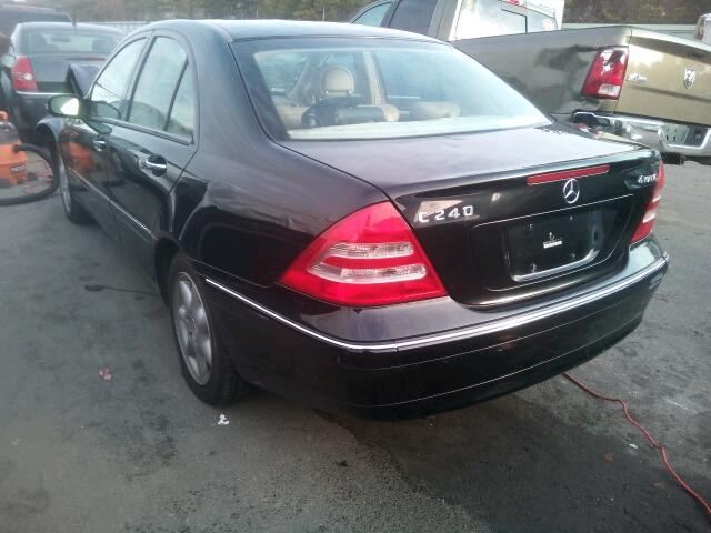 Salvage 2004 MERCEDES-BENZ C240 - Small image. Lot 14531346