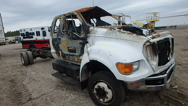 Salvage 2007 FORD F650 - Small image. Lot 18262395