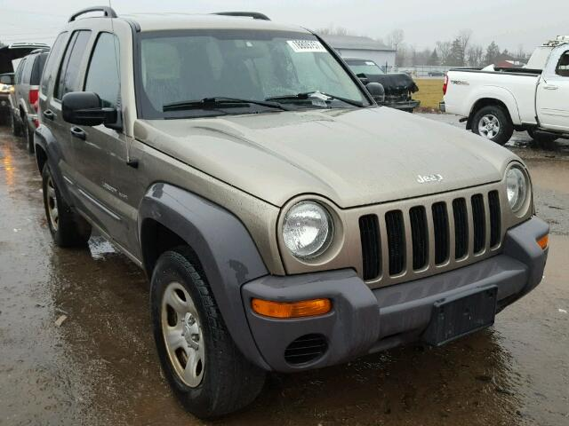Salvage 2003 JEEP LIBERTY - Small image. Lot 18809757