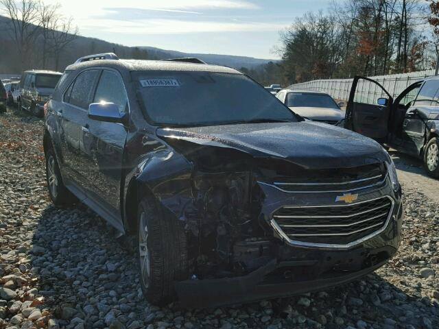 Salvage 2016 CHEVROLET EQUINOX - Small image. Lot 18956387