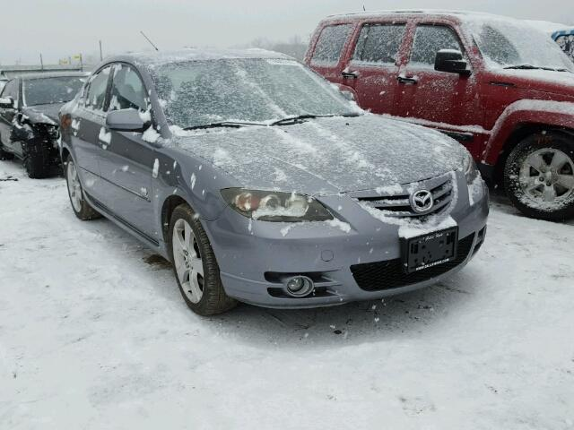 Salvage 2006 MAZDA 3 - Small image. Lot 18003447