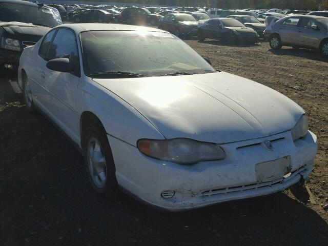 Salvage 2002 CHEVROLET MONTECARLO - Small image. Lot 20202707