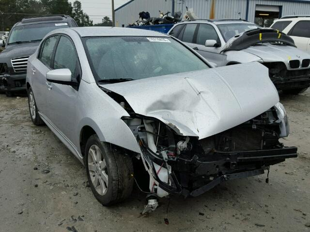 Salvage 2012 NISSAN SENTRA - Small image. Lot 15210416