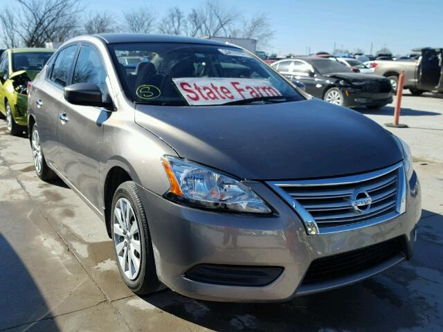 Salvage 2015 NISSAN SENTRA - Small image. Lot 20410707