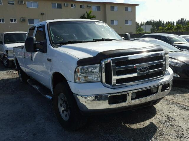 Salvage 2005 FORD F250 - Small image. Lot 24225087
