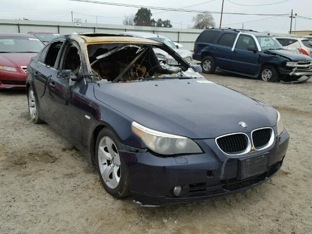 Salvage 2006 BMW 5 SERIES - Small image. Lot 20860817