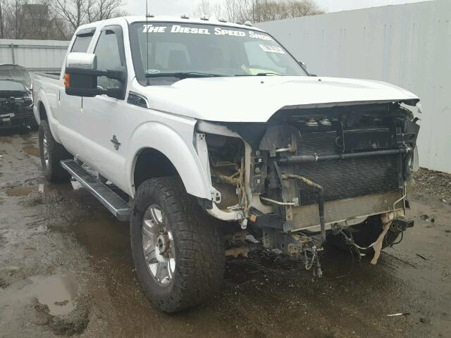 Salvage 2014 FORD F350 - Small image. Lot 18019137