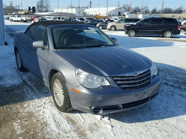 Salvage 2009 CHRYSLER SEBRING - Small image. Lot 18114217
