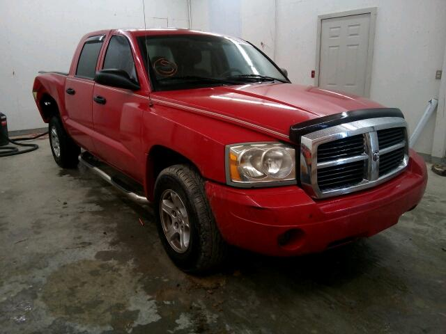 Salvage 2007 DODGE DAKOTA - Small image. Lot 15071646