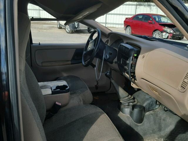 vin 1ftyr14u22pb47331 2002 ford ranger interior view lot 25157897