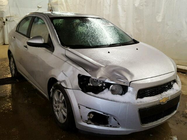 Salvage 2012 CHEVROLET SONIC - Small image. Lot 18025887
