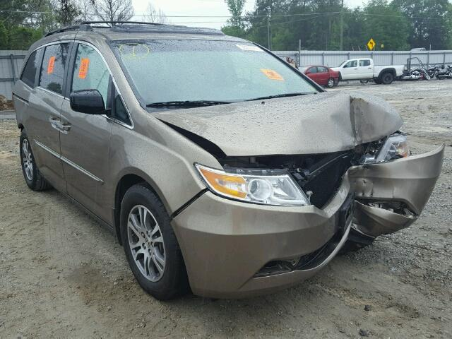 Salvage 2011 HONDA ODYSSEY - Small image. Lot 28233767