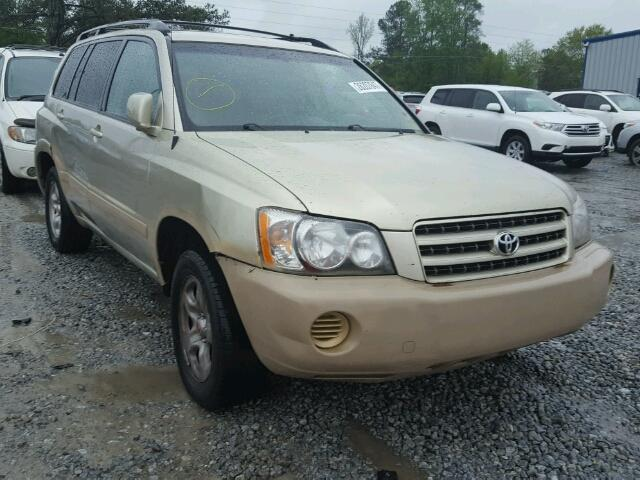 Used 2001 TOYOTA HIGHLANDER - Small image. Lot 26207647