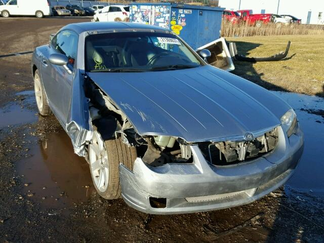 Salvage 2005 CHRYSLER CROSSFIRE - Small image. Lot 21369637