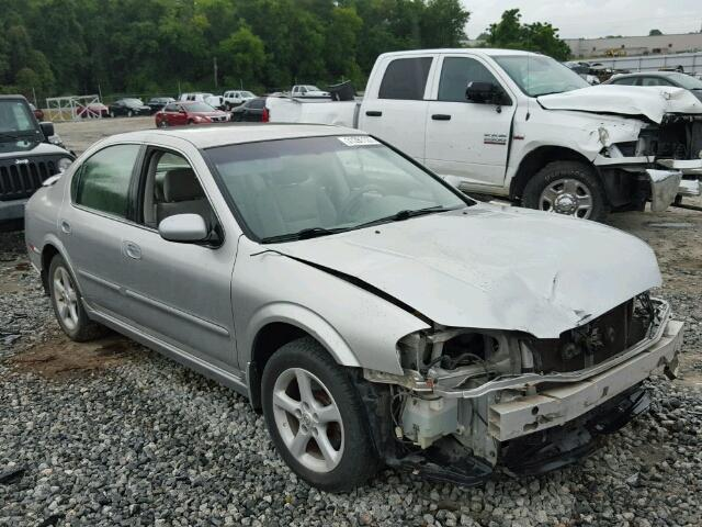 Worksheet. Salvage Title 2003 Nissan Maxima Sedan 4d 35L 6 For Sale in
