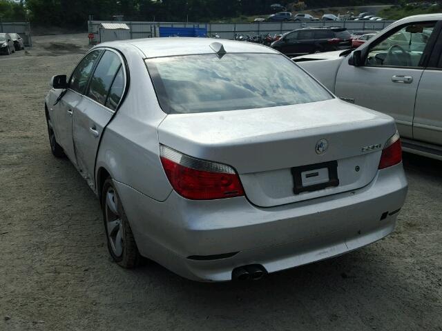 Mv907a Salvage Certificate 2004 BMW 5 Series Sedan 4d 30L 6 For