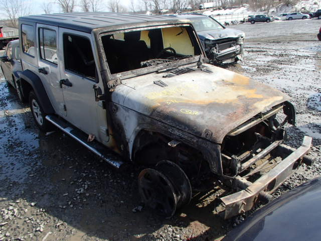 Salvage 2007 JEEP WRANGLER - Small image. Lot 16740044