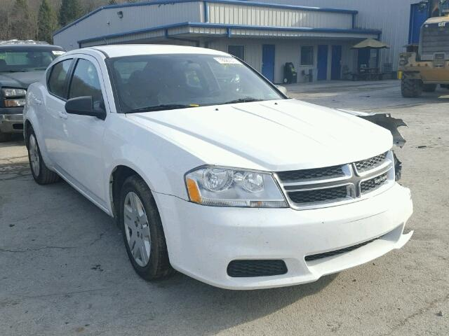 Salvage 2013 DODGE AVENGER - Small image. Lot 18087317