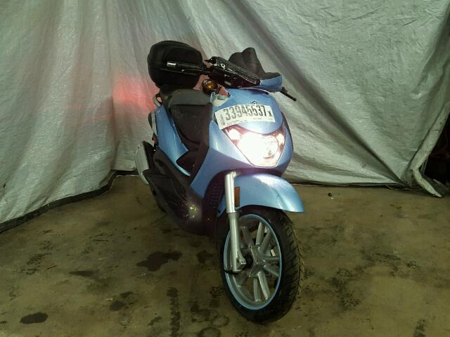 branded salvage cert 1 2007 piaggio scooter motor sc 1 for sale in
