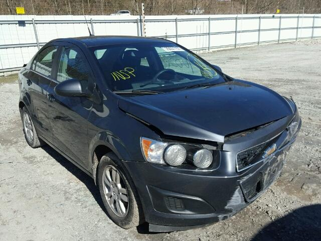 Salvage 2013 CHEVROLET SONIC - Small image. Lot 25031157