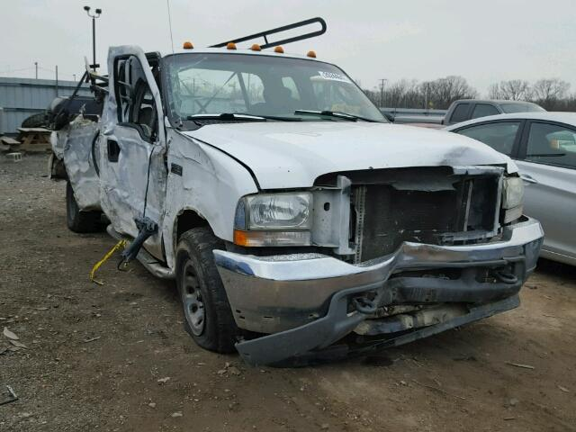 Salvage 2004 FORD F250 - Small image. Lot 20244647