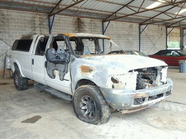 Salvage 2001 FORD F350 - Small image. Lot 32584857