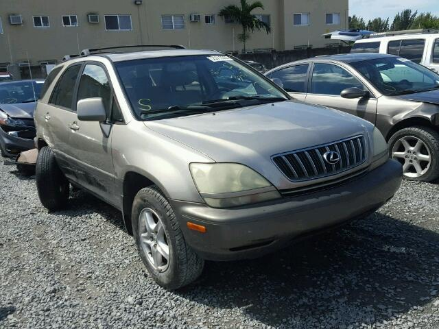 Salvage 2003 LEXUS RX300 - Small image. Lot 23713307
