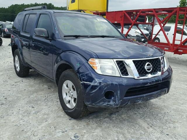 Salvage Title 2009 Nissan Pathfinder 4dr Spor 40l 6 For Sale In