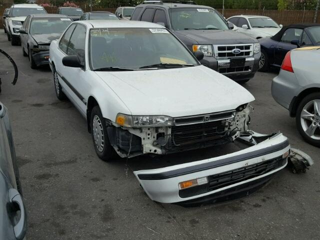 Salvage Certificate 1990 Honda Accord Coupe 22l 4 For Sale In San
