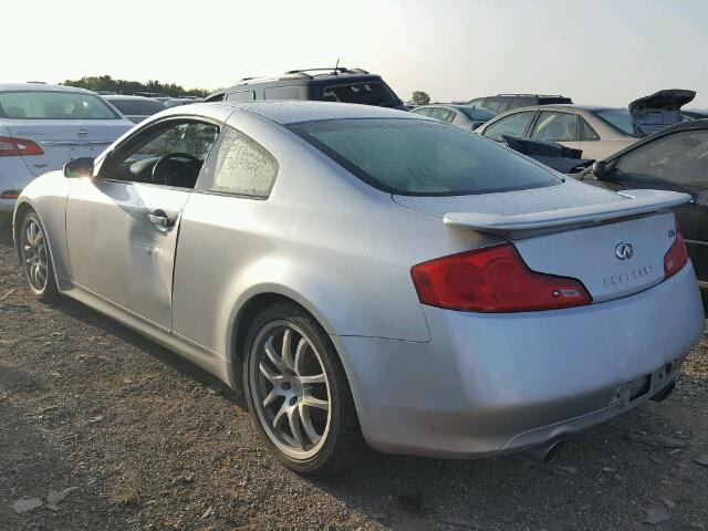 Salvage Certificate 2006 Infiniti G35 Coupe 35L 6 For Sale in