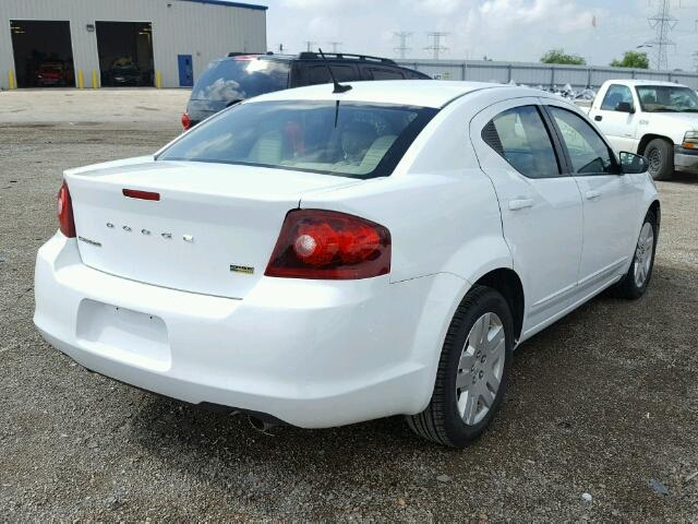 Flood  Salvage 2012 Dodge Avenger Sedan 4d 36L 6 For Sale in