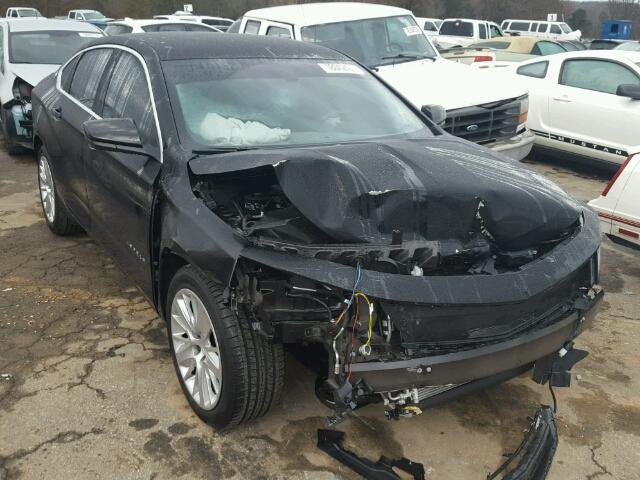 Salvage 2017 CHEVROLET IMPALA - Small image. Lot 18042407