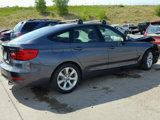 Salvage Title 2014 BMW 3 Series Hatchbac 30L 6 For Sale in