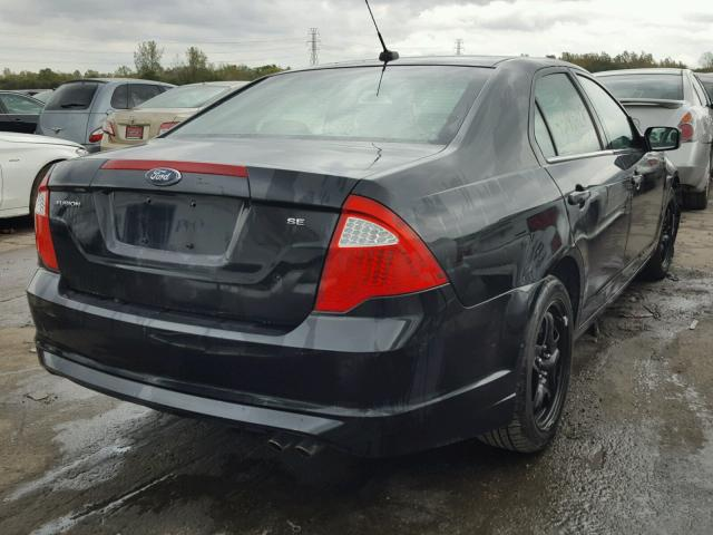 Salvage Certificate 2010 Ford Fusion Sedan 4d 25L 4 For Sale in