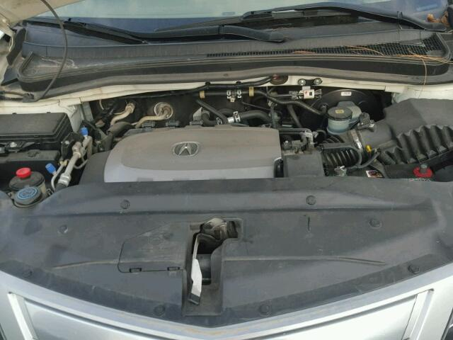 2012 Acura MDX 4dr Spor 37L 6 White  Houston TX