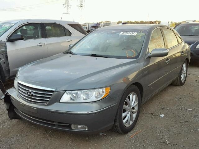 Salvage Certificate 2008 Hyundai Azera Sedan 4d 38L 6 For Sale in