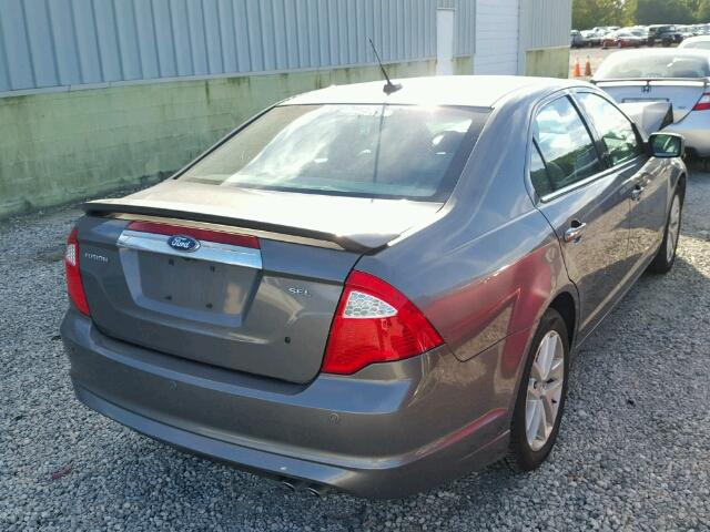 Certificate Of Title  Salvage 2010 Ford Fusion Sedan 4d 25L 4