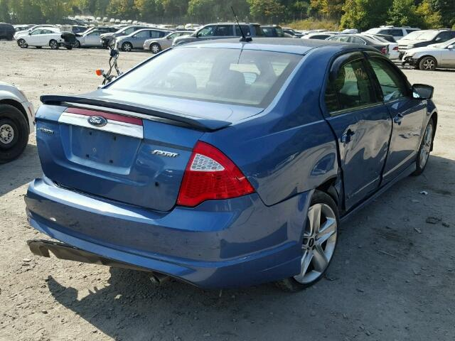 Mv907a Salvage Certificate 2010 Ford Fusion Sedan 4d 35L 6 For